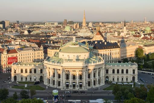 View to Burgtheater